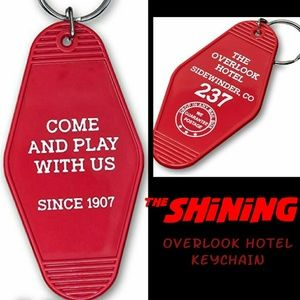 The Shining Overlook Hotel keychain new in package